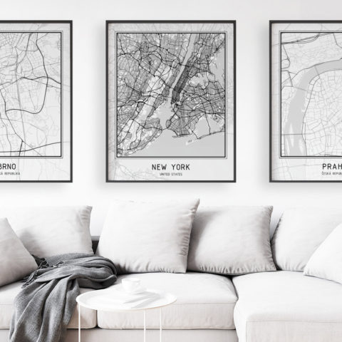 Minimalistické mapy
